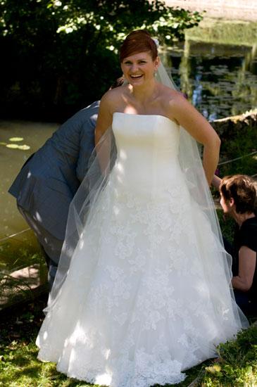 Mon mariage tout en dentelle : Où on se fait prendre en photo encore et encore et encore