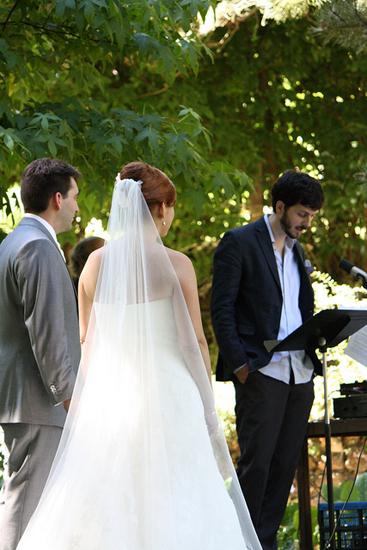 Mon mariage tout en dentelle : la cérémonie laïque (1ère partie)