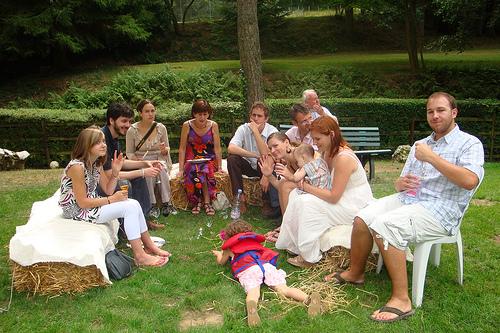 Mon mariage tout en dentelle : le pique-nique du dimanche
