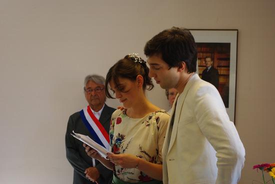 Le mariage de Lila : la cérémonie