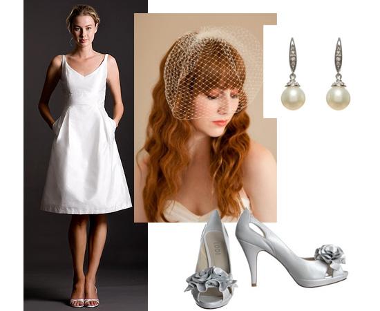Aujourd'hui, je me marierais en robe babydoll simple, courte et chic
