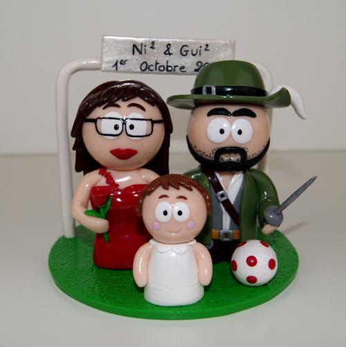 Gagne un couple de figurines de mariage personnalisées !