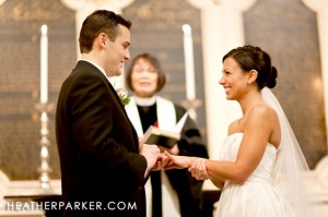 cérémonie mariage église