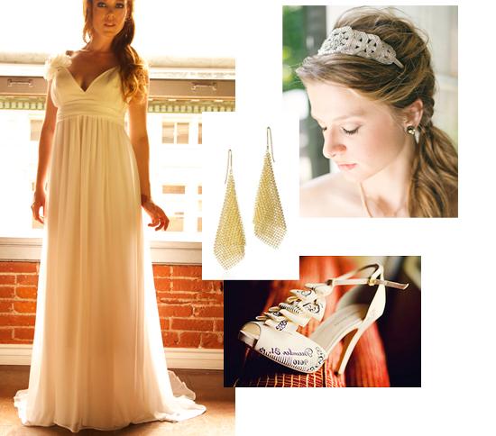 Aujourd'hui, je me marierais enceinte dans une longue robe fluide