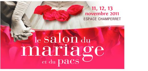 A gagner : 8 invitations pour 2 pour le salon du mariage et du PACS