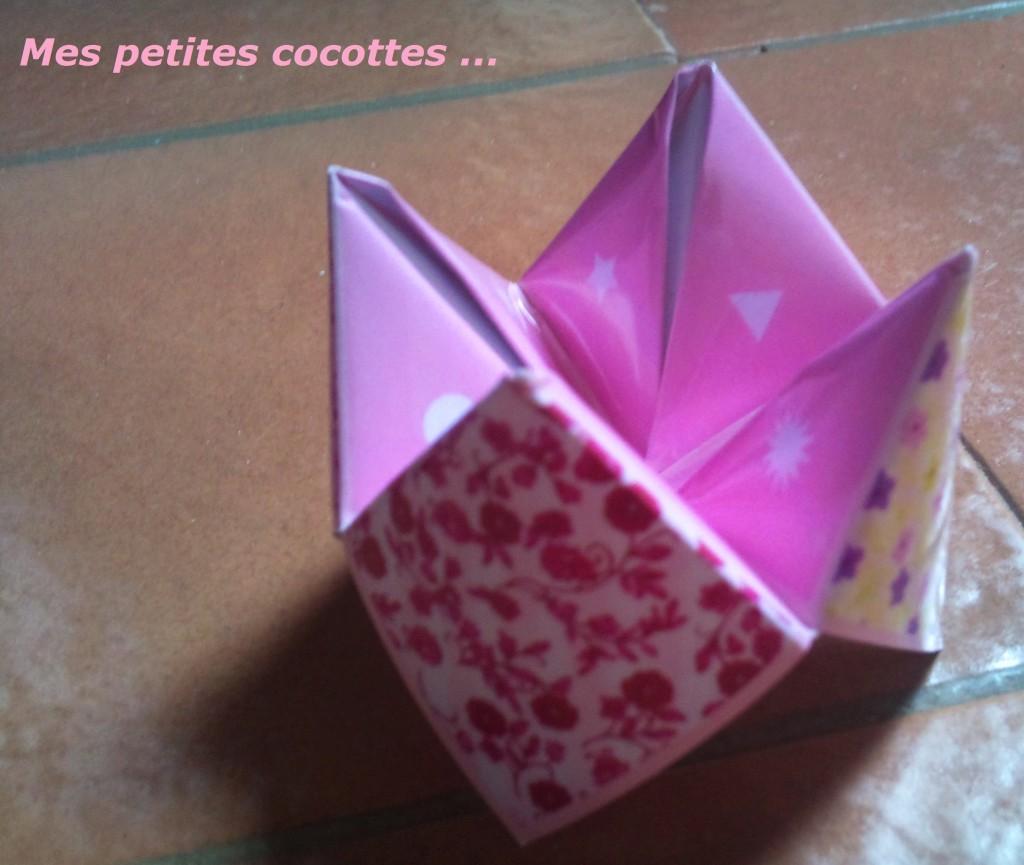 cocotte en papier animation mariage