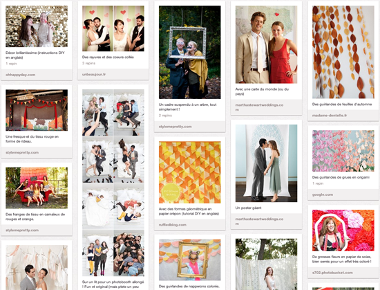 36 idées de décor pour ton photobooth de mariage