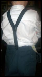 Costume petit garçon mariage thème années 50