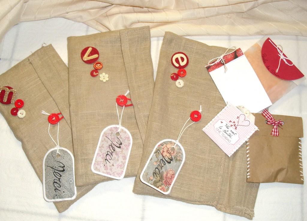 pochettes cadeaux pour demoiselles d'honneur