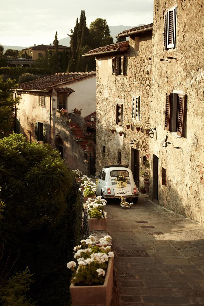 Fiat 500 - Notre voiture de mariage