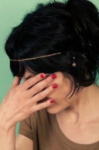 Headband mariage