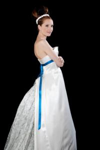 Essayage robe de mariée Christophe-Alexandre Docquin
