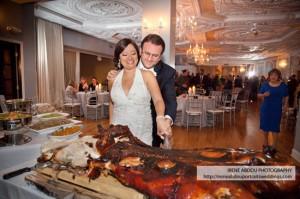 cochon grillé mariage