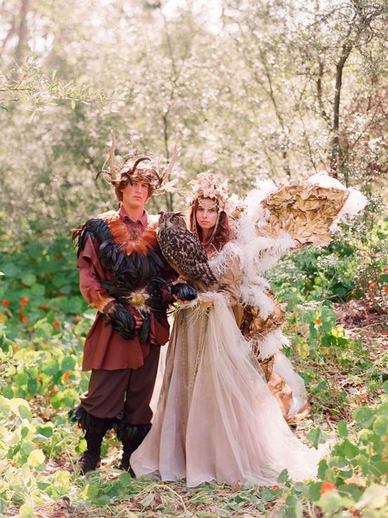 Mariage thème médiéval féérique