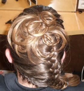 tresse coiffure mariage