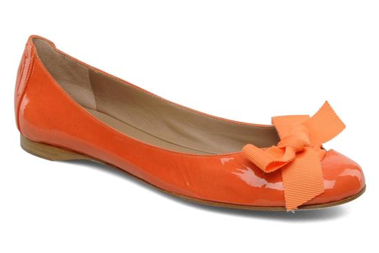 ballerine orange mariage