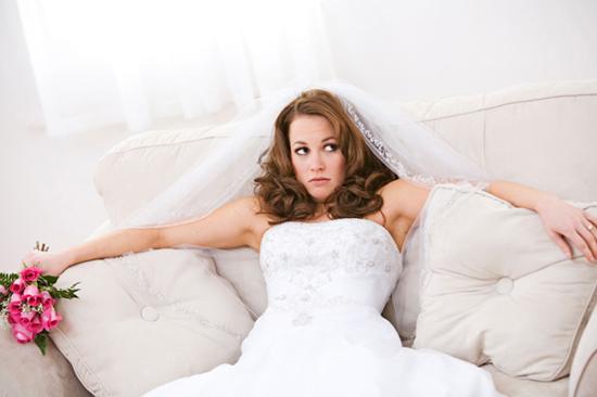 mariée sature préparatifs mariage