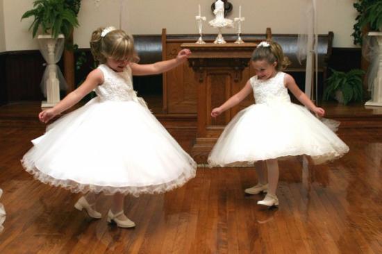 petites filles mariage