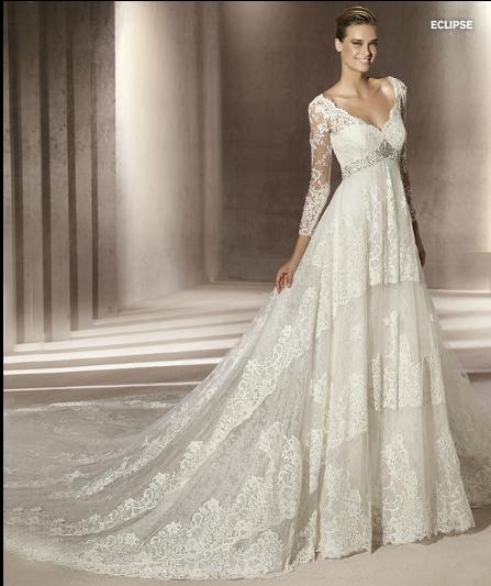 Robe de mariée manuel mota pronovias
