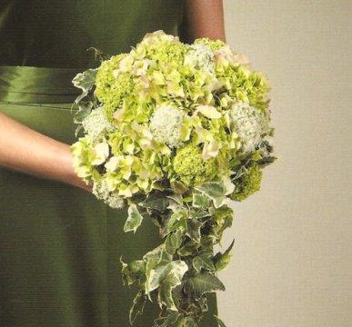mariage écolo robe de mariée verte