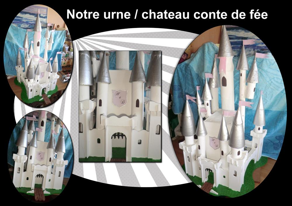 urne chateau de princesse mariage