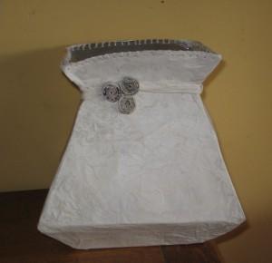 vase tetra pak récup déco mariage