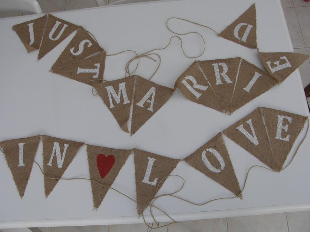 banderolle fanions mariage