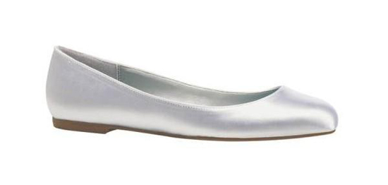 Ballerines plates mariage grandes tailles