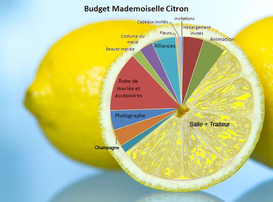 budget de mariage gros mariage