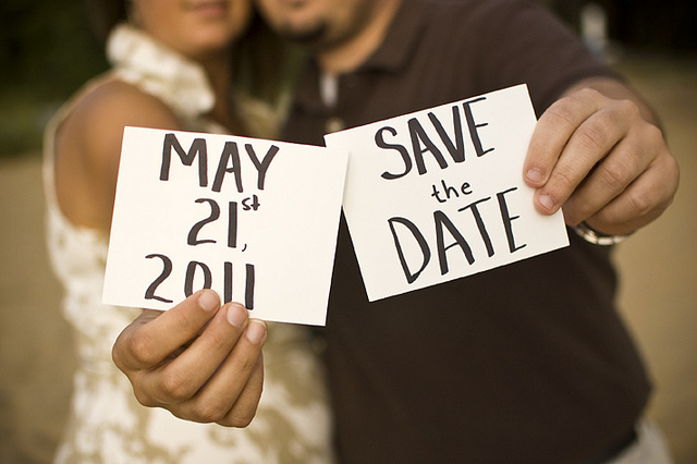 différence save the date faire part mariage