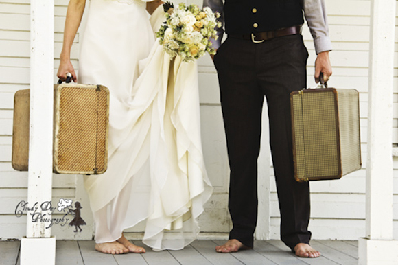 mariés valises