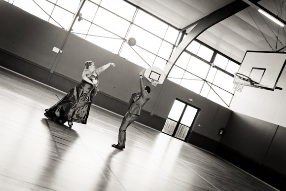photo de couple basket