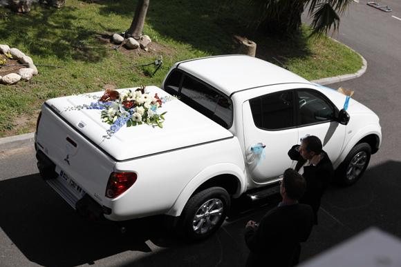 pickup mariés