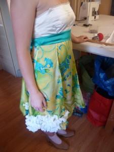 robe mariée courte mairie