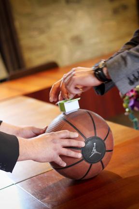 thème mariage basket