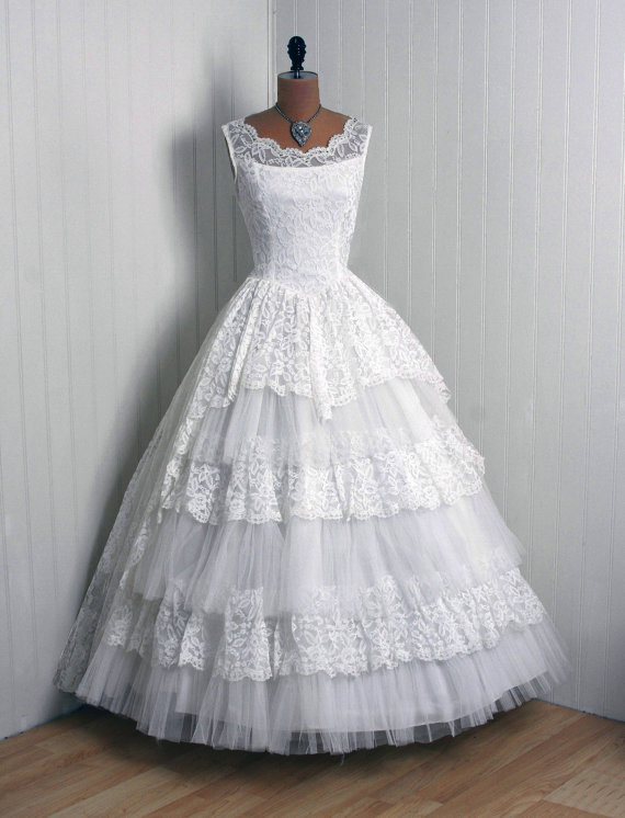 acheter robe de mariée vintage