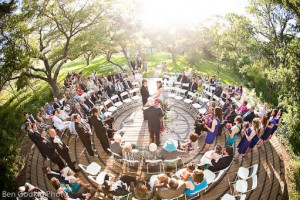 Cérémonie d'engagement en cercle