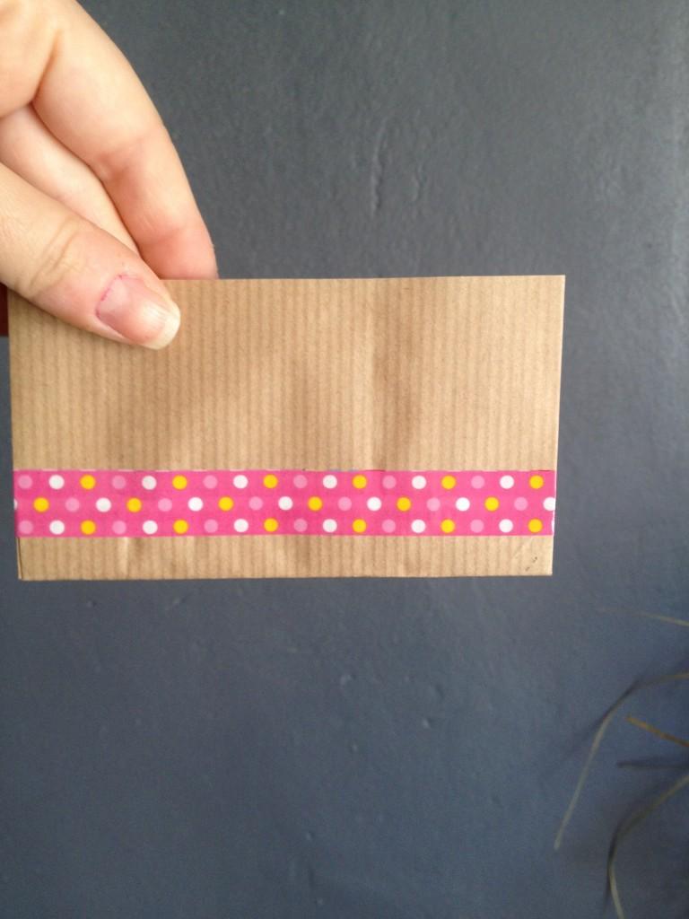 pochette à confettis diy mariage