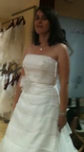 Robe de mariée fleur ceinture