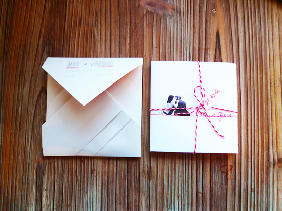 Nos invitations, faites maison