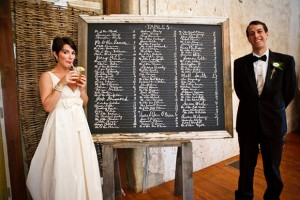 Le casse-tête du plan de table mariage