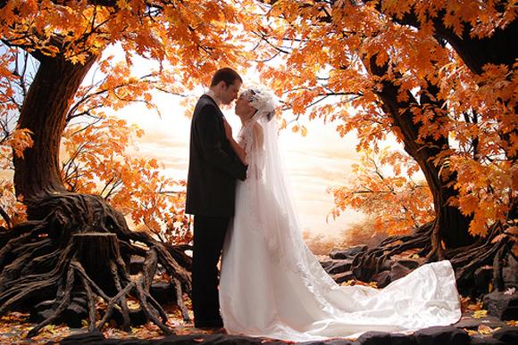 L'automne s'invitera dans tous les petits détails du mariage