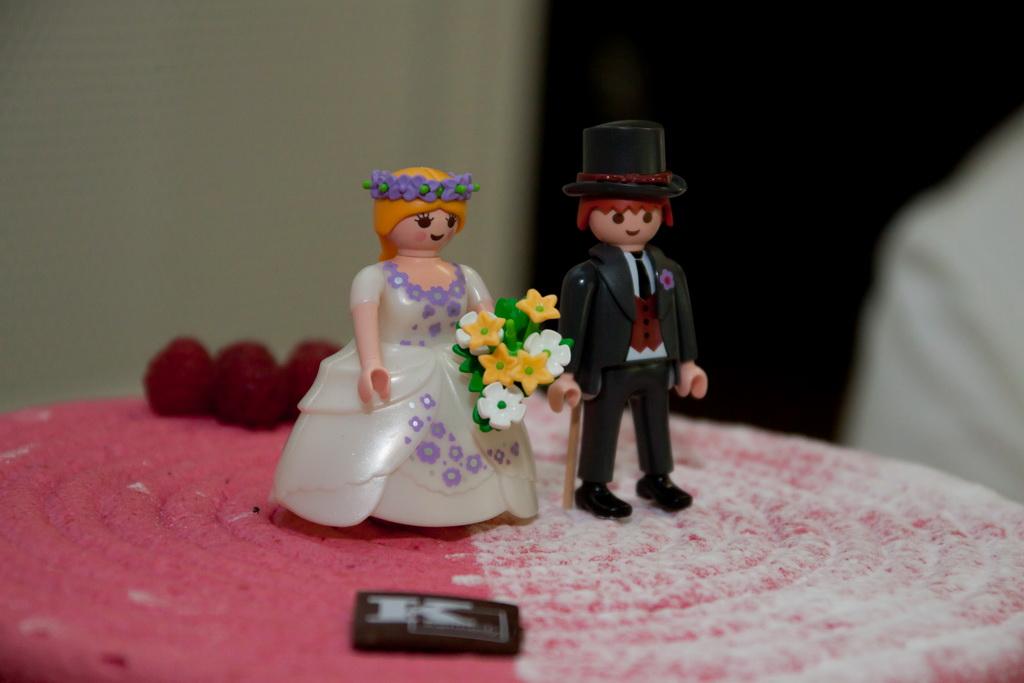 figurines de mariage playmobils