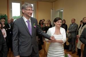 Mariage mairie robe de mariée courte