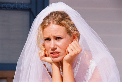 Doutes robe de mariée