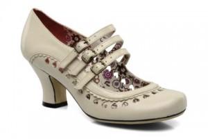 Chaussures de mariées blanches