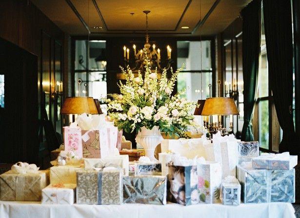 Table cadeaux de mariage