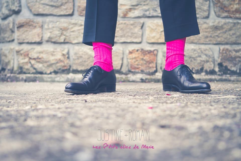 chaussettes du marié