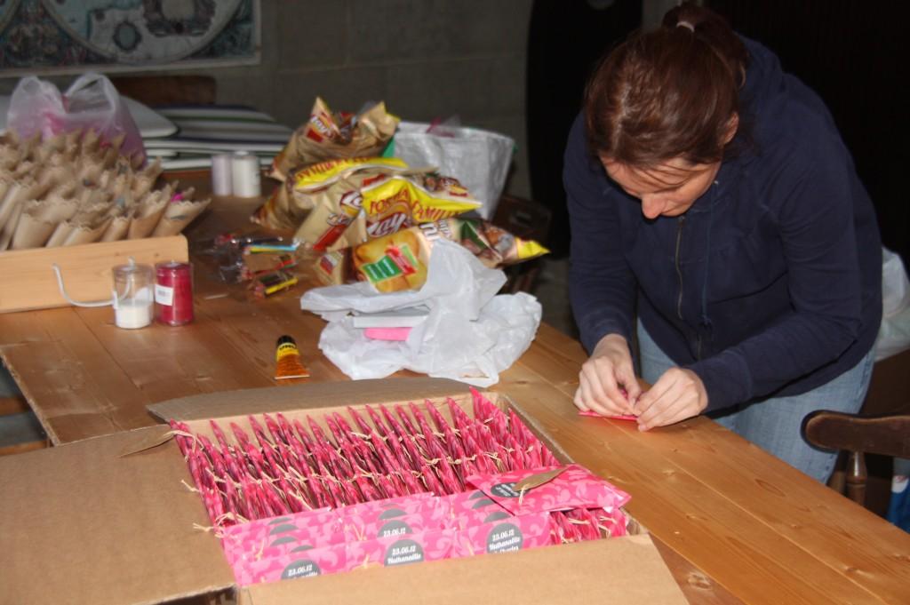 Emballage shortbreads cadeaux invités