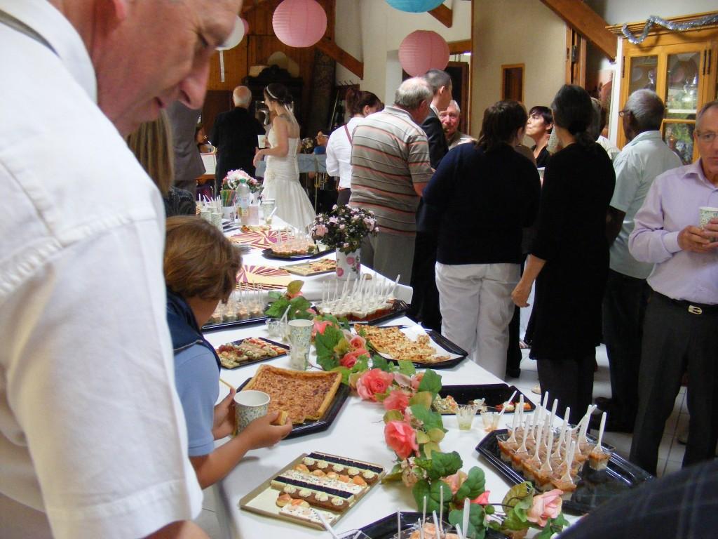 Mariage participatif cocktail